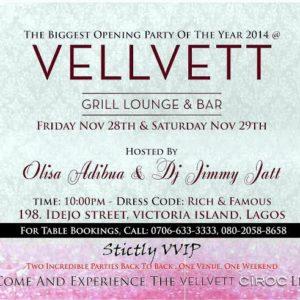 Vellvett Grill Lounge & Bar Opening - BellaNaija - November 2014