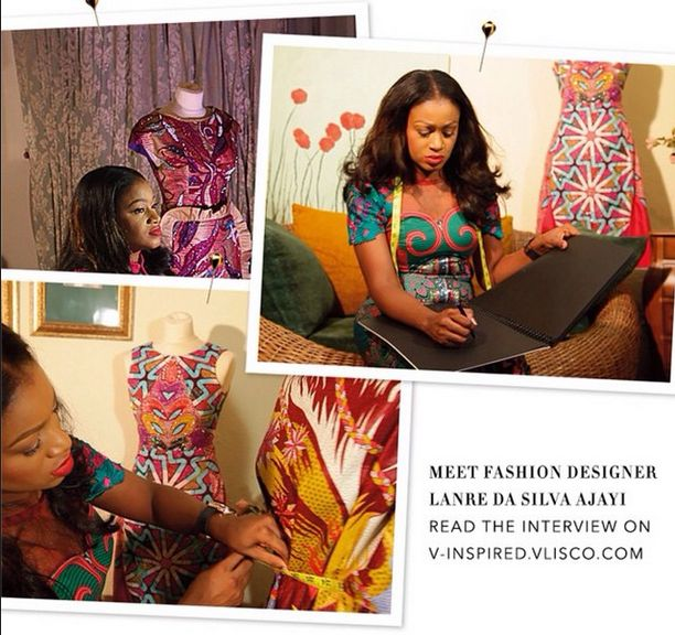 Vlisco A Moment with Lanre Da Silva-Ajayi - BellaNaija - November 2014003