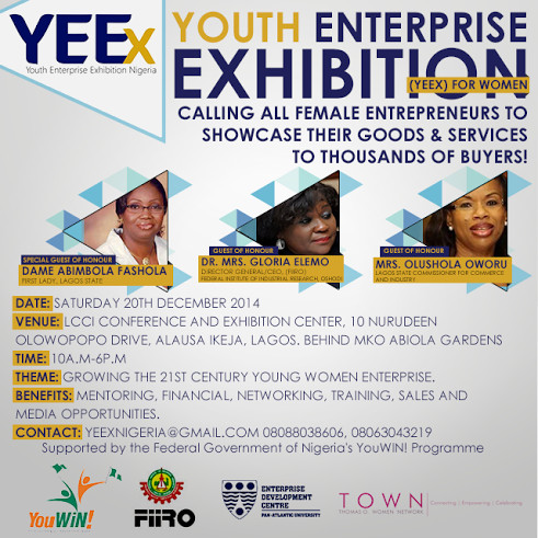Youth Enterprise Exhibition YEEX - BellaNaija - November 2014