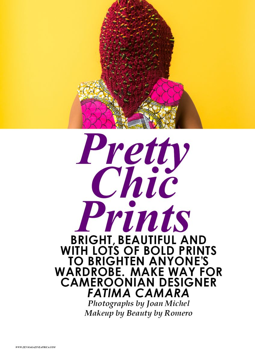 Zen Magazine Editorial with Cameroonian Designer Fatima Camara - Bellanaija - November2014001