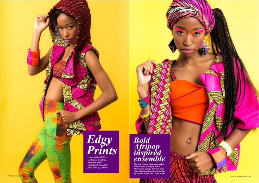 Zen Magazine Editorial with Cameroonian Designer Fatima Camara - Bellanaija - November2014009