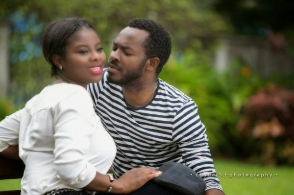 oc ukeje - ibukun pre wedding shoot