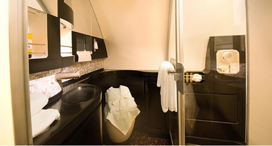 the residence bathroom etihad