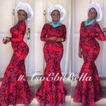 @lizzy_josh in dress by @araewa beads by @sharoke