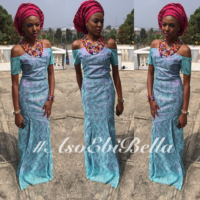 @ms_samirah makeup gele by @dazzling_touch