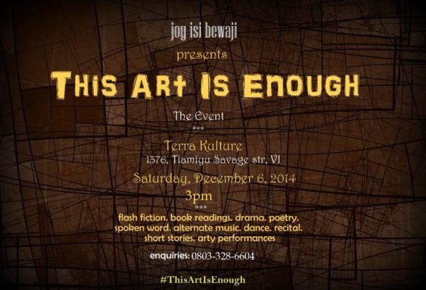 Art is Enough