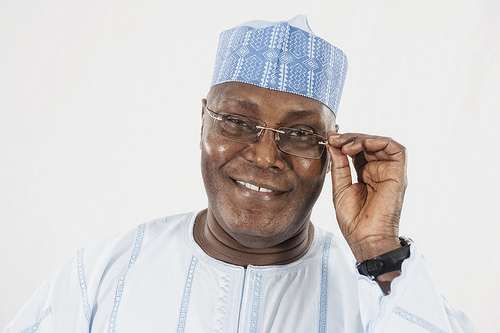 See Atiku Abubakar's Comment After Arsenal Match