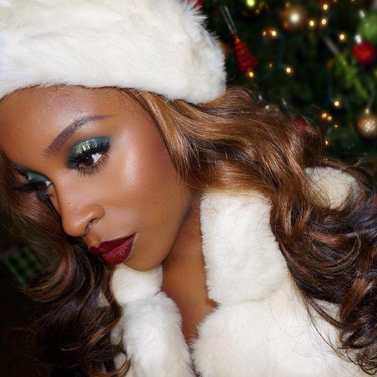 BN Beauty MakeupGameOnPoint Mrs Claus Tutorial - BellaNaija - December 2014