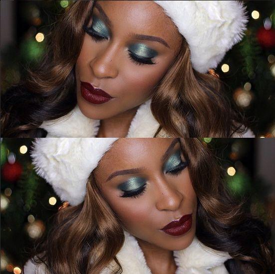 BN Beauty MakeupGameOnPoint Mrs Claus Tutorial - BellaNaija - December 2014002