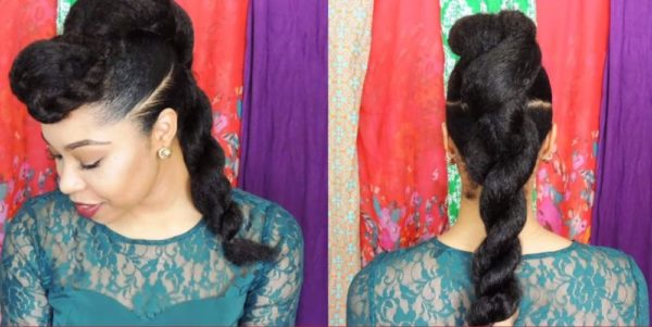 BN Beauty Natural Hair Inspirations Festive Season - BellaNaija - December 2014003
