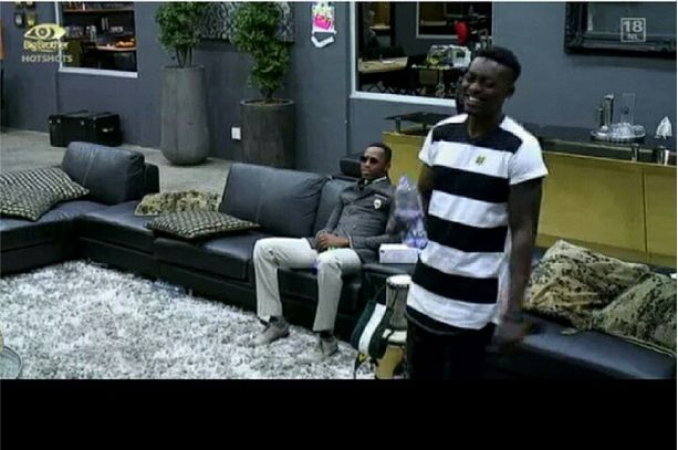 Tayo & Idris in their last minutes in the house