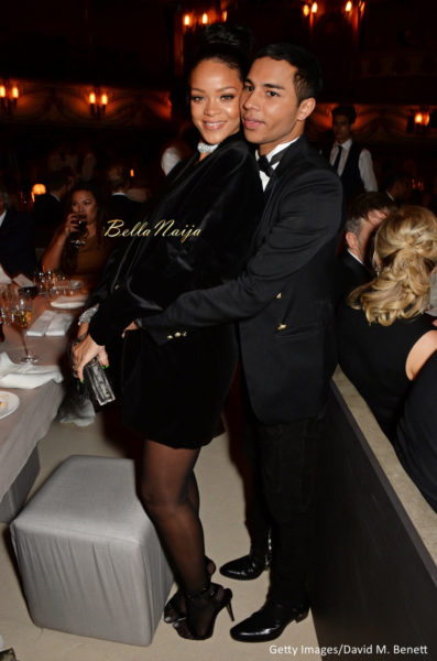 Rihanna & Olivier Rousteing