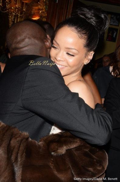 Edward Enninful & Rihanna