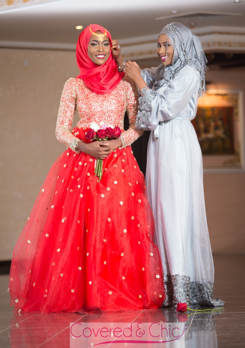 the gallery for gt muslim red wedding dresses
