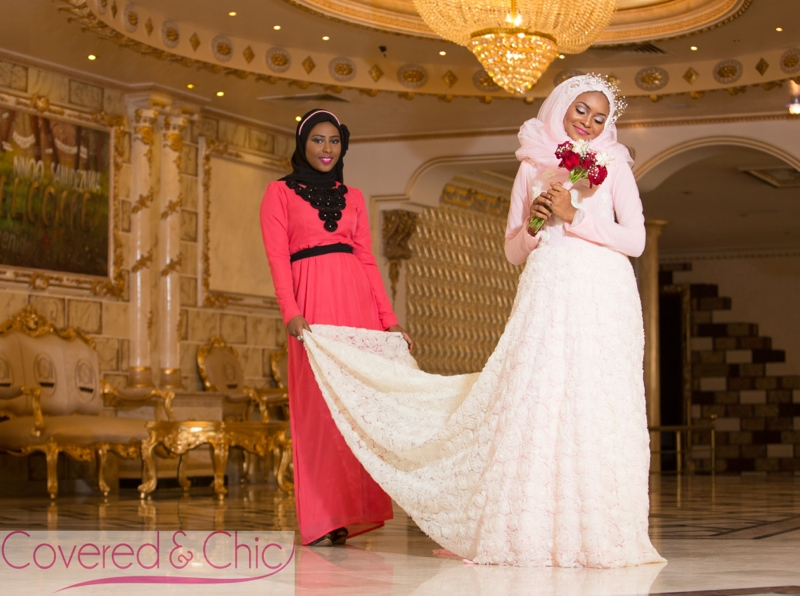 BN Bridal: Muslim Bridal Dresses! by Covered & Chic - BellaNaija