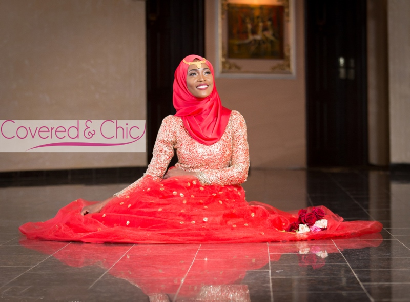 Bn Bridal Muslim Bridal Dresses By Covered Amp Chic Bellanaija