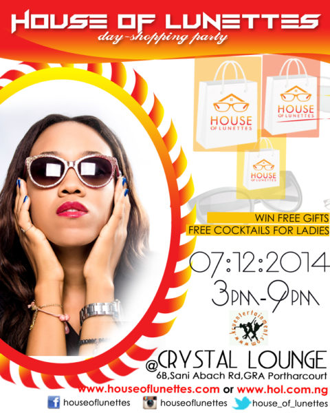 Crystal Lounge - Shopping Party
