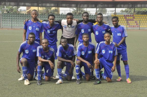 Pepsi Football Academy U-16 West I pose before their match