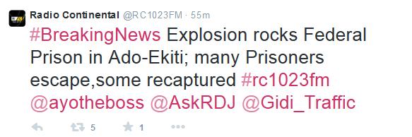 Ekiti Explosion