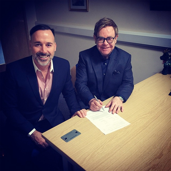 Elton John & David Furnish - December 2014 - BellaNaija.com 01