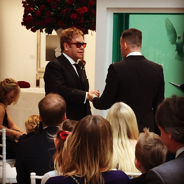 Elton John & David Furnish - December 2014 - BellaNaija.com 02