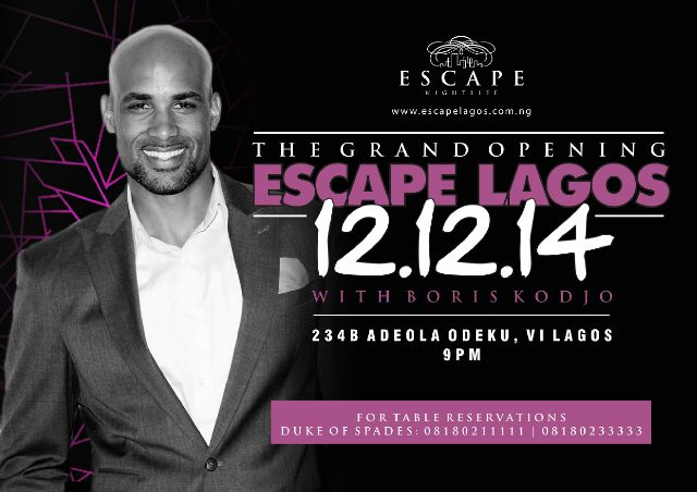 Escape Lagos Grand Opening - BellaNaija - December 2014