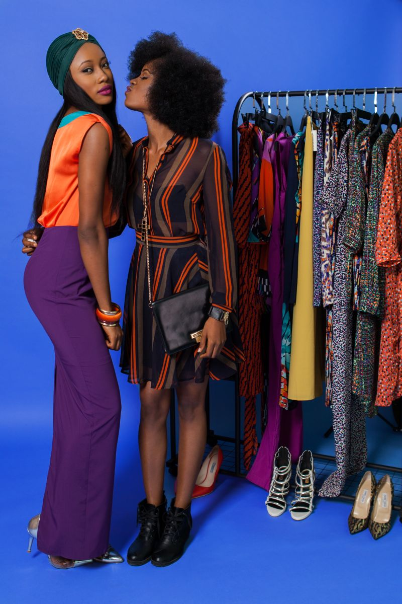 Eve & Tribe The Colour Purple Campaign Images - Bellanaija - December2014005