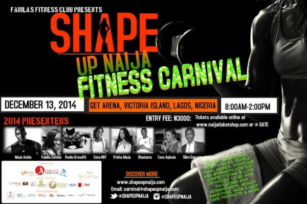 Fabila's Fitness Club presents Shape Up Naija Fitness Carnival - BellaNaija - December 2014001