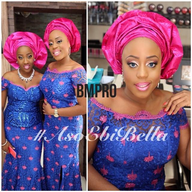 Folake & Kanyinsola, makeup by @banksbmpro