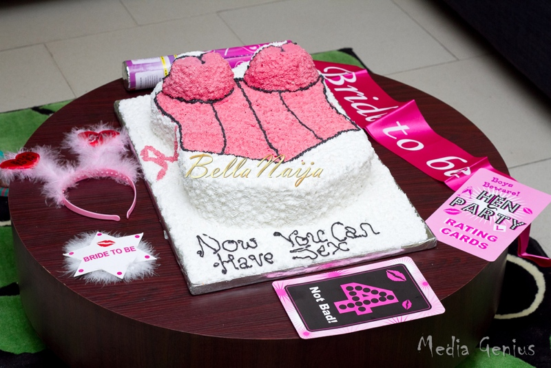 Funto's Bridal Shower Cake