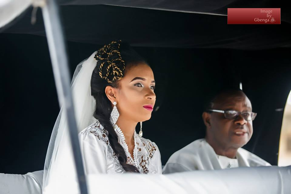Ibinabo Fiberesima's White Wedding - December 2014 - BellaNaija.com 02