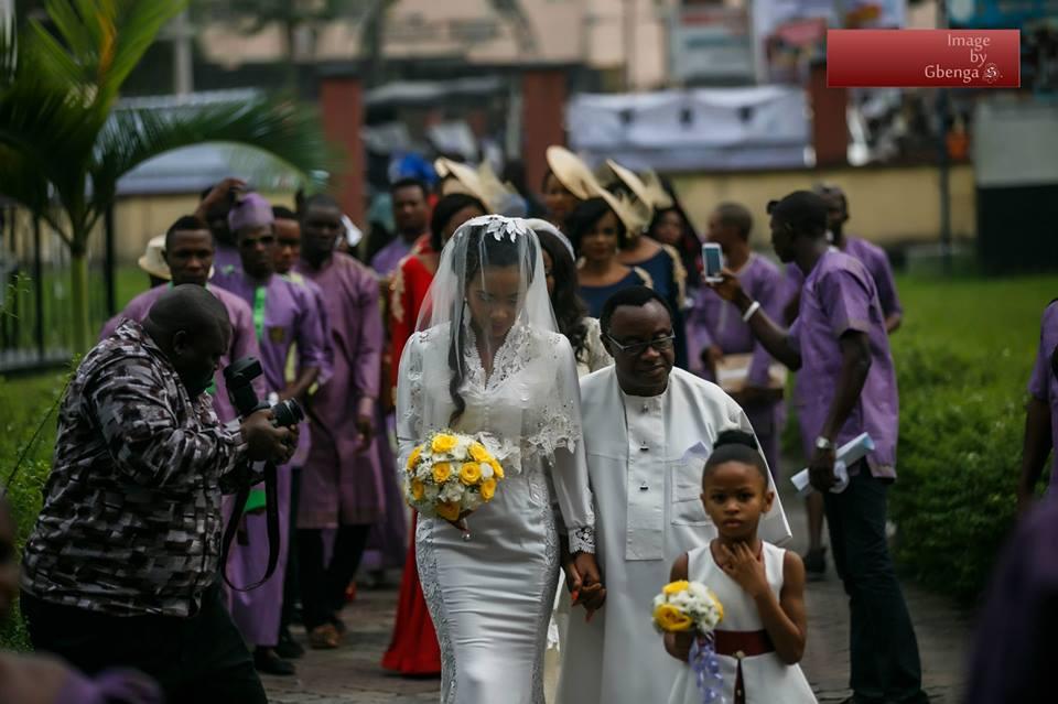 Ibinabo Fiberesima's White Wedding - December 2014 - BellaNaija.com 04