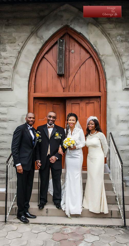 Ibinabo Fiberesima's White Wedding - December 2014 - BellaNaija.com 05
