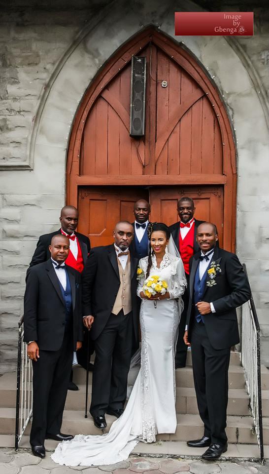 Ibinabo Fiberesima's White Wedding - December 2014 - BellaNaija.com 06