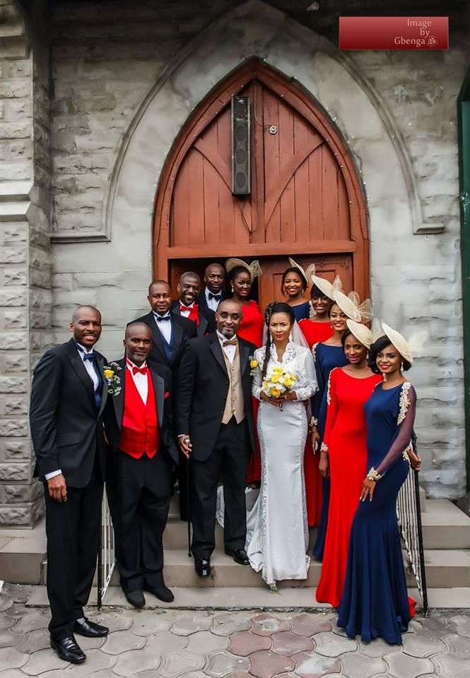Ibinabo Fiberesima's White Wedding - December 2014 - BellaNaija.com 07