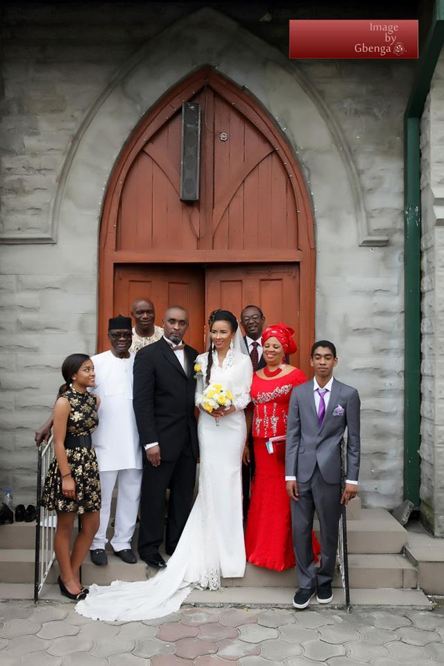 Ibinabo Fiberesima's White Wedding - December 2014 - BellaNaija.com 08