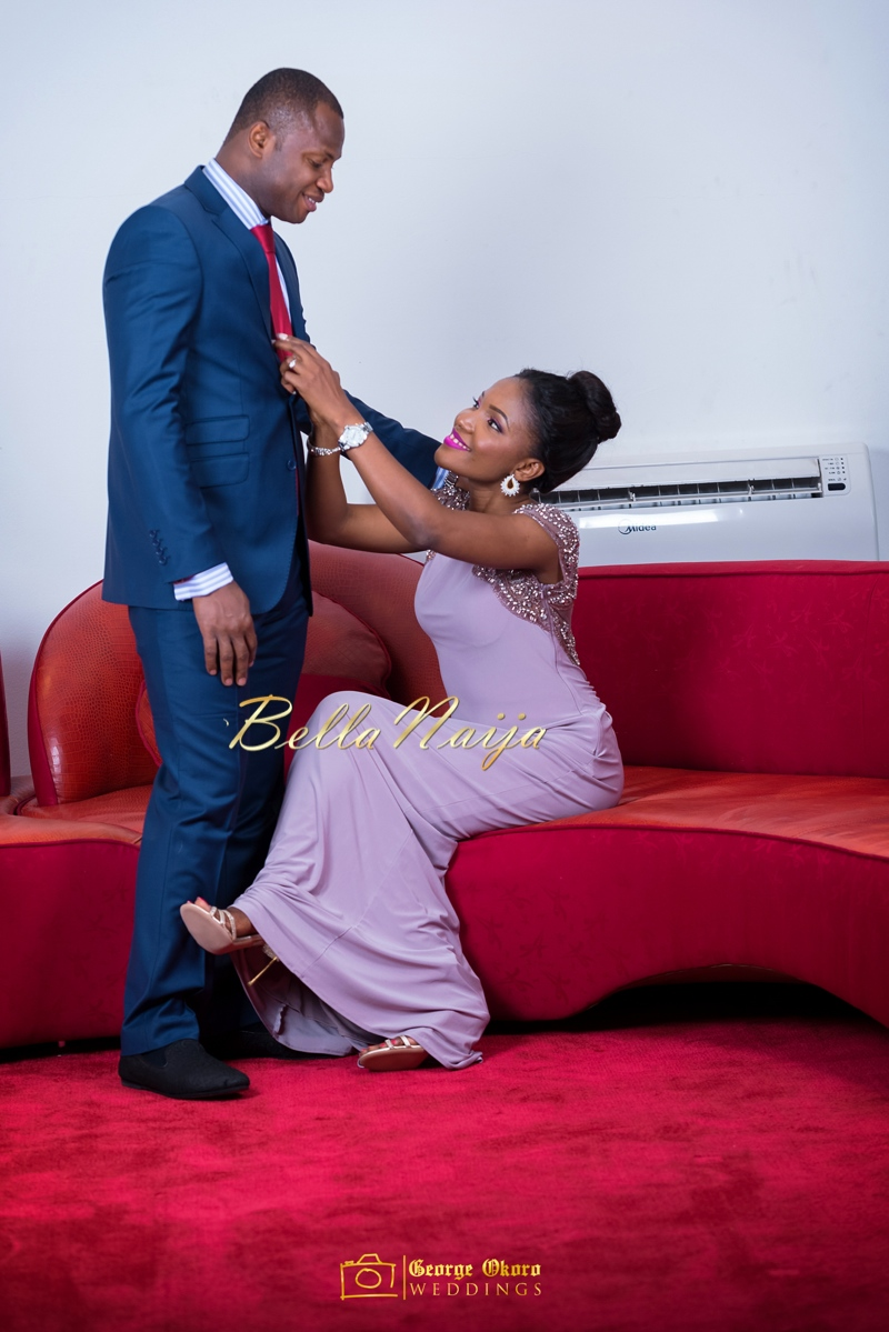 Ine & Simeon | President Goodluck Jonathan's Daughter Getting Married | George Okoro | December 2014 | BellaNaija 0.07