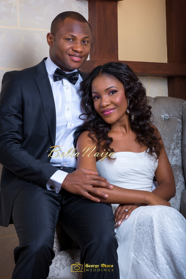 Ine & Simeon | President Goodluck Jonathan's Daughter Getting Married | George Okoro | December 2014 | BellaNaija 0.08
