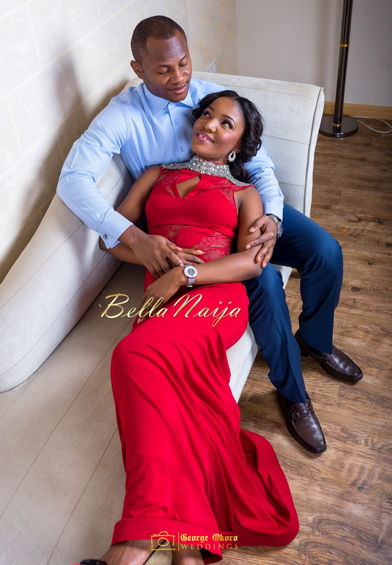 Ine & Simeon | President Goodluck Jonathan's Daughter Getting Married | George Okoro | December 2014 | BellaNaija 0.16