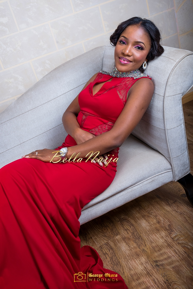 Ine & Simeon | President Goodluck Jonathan's Daughter Getting Married | George Okoro | December 2014 | BellaNaija 0.18