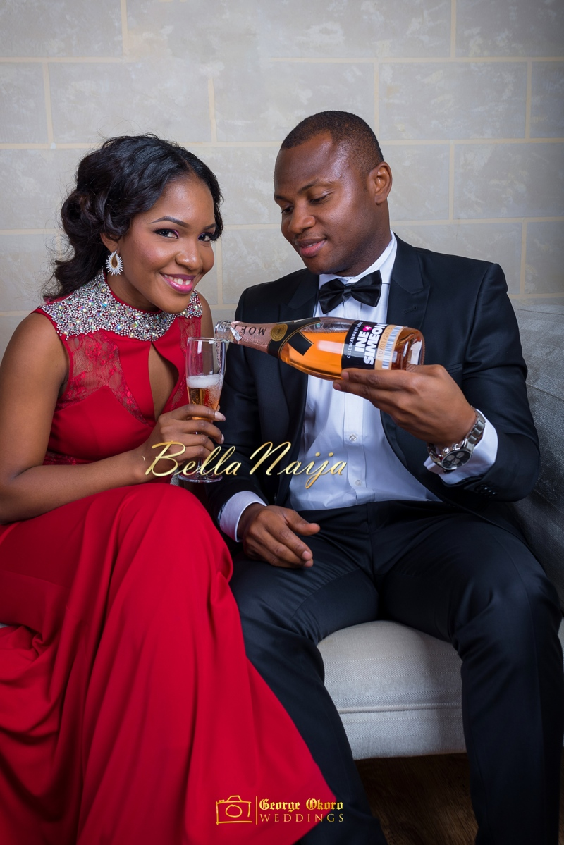 Ine & Simeon | President Goodluck Jonathan's Daughter Getting Married | George Okoro | December 2014 | BellaNaija 0.23