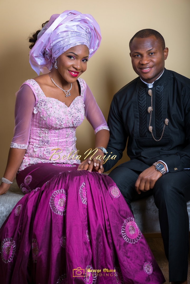 Ine & Simeon | President Goodluck Jonathan's Daughter Getting Married | George Okoro | December 2014 | BellaNaija 0.29