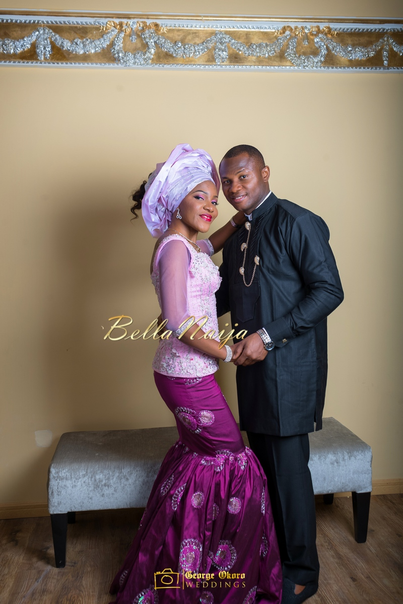 Ine & Simeon | President Goodluck Jonathan's Daughter Getting Married | George Okoro | December 2014 | BellaNaija 0.33