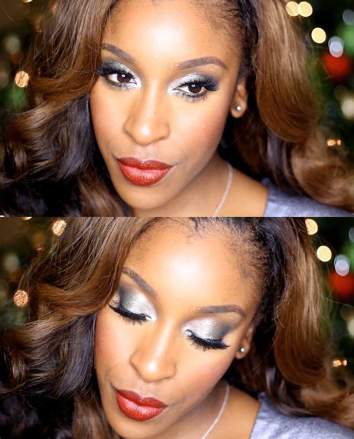 Jackie Aina MakeupGameOnPoint Makeup Tutorial - BellaNaija - December 2014003