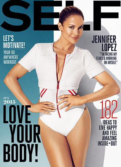 Jennifer Lopez - Self Magazine - December 2014 - BellaNaija.com 02