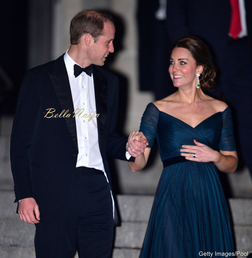 Pregnancy style kate middletons baby bump is barely noticeable kate middleton duchess of cambridge and prince william attended the creativity is great britains event that was held last night at neuehouse in new york ombrellifo Gallery