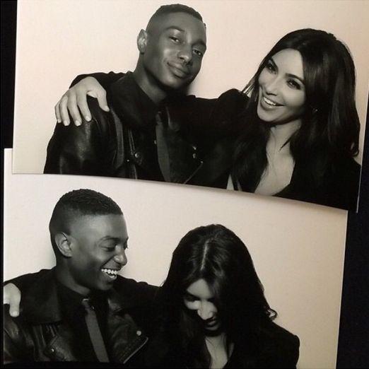 Kim Kardashian - BellaNaija - December 2014
