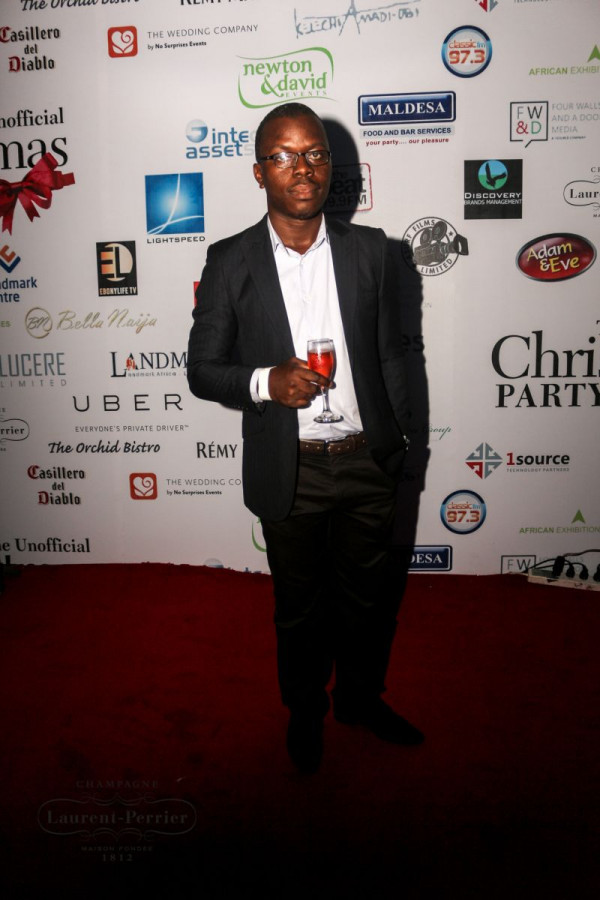 Laurent Perrier Sponsored-CEO Lounge at The Unofficial Christmas Party - Bellanaija - December2014005