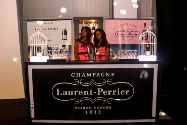 Laurent Perrier Sponsored-CEO Lounge at The Unofficial Christmas Party - Bellanaija - December2014006