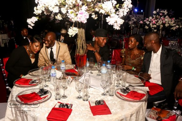 Laurent Perrier Sponsored-CEO Lounge at The Unofficial Christmas Party - Bellanaija - December2014011